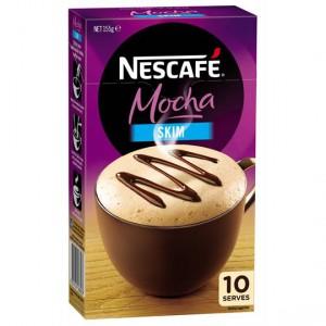 Nescafe Cafe Menu Skim Mocha