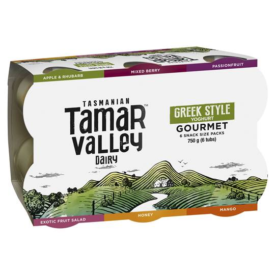 A review for Tamar Valley Greek Style Yoghurt Gourmet Assorted