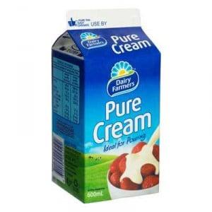 Dairy Farmers Pure Cream