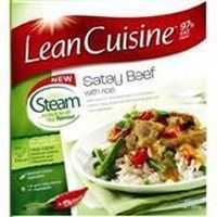 Lean Cuisine Steam Satay Beef With Rice