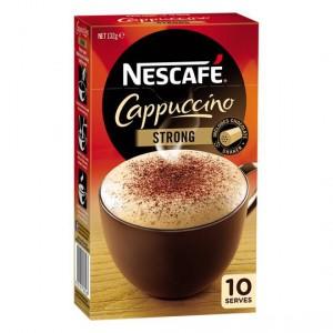 Nescafe Cafe Menu Strong Cappucino