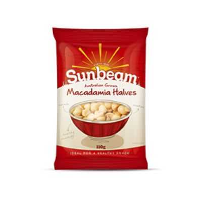 Sunbeam Macadamias Halves