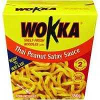 Wokka Thai Peanut Satay Sauce Noodle Box