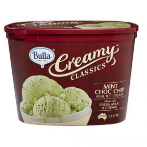 Bulla Creamy Classics Ice Cream Mint Choc Chip