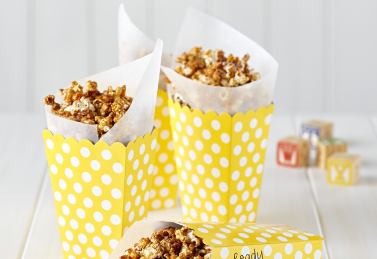 Caramel Spiced Pop Corn
