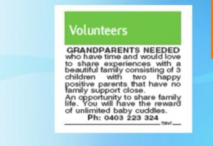 grandparents wanted