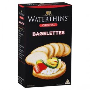 Waterthins Crispbread Bagelettes Original