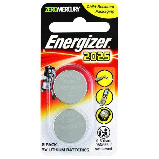 Energizer Lithium Button Batteries 2025
