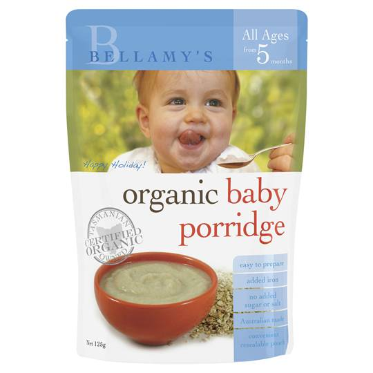 Bellamys Organic Food 6 Months+ Porridge