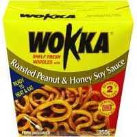 Wokka Roasted Peanut & Honey Soy Sauce Noodle Box