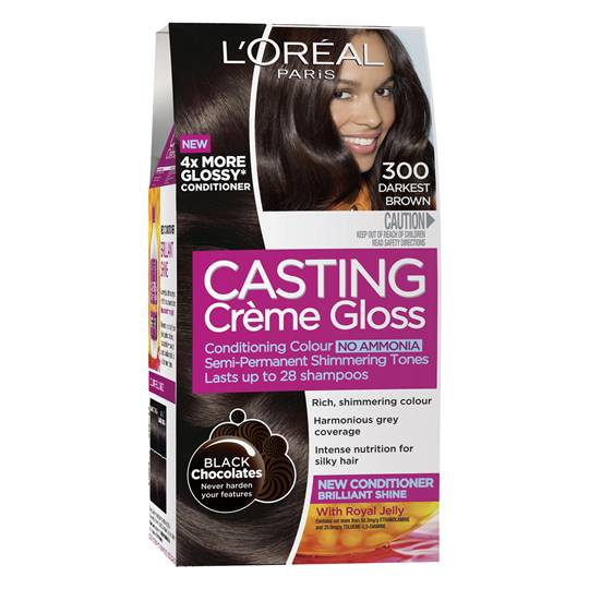 L'oreal Casting Crème Gloss 300 Darkest Brown