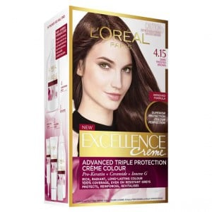 L'oreal Excellence Crème 4.15 Dark Frosted