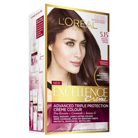 L'oreal Excellence Crème 5.15 Natural Frosted Brown