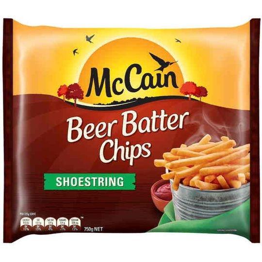 Mccain Beer Batter Thin & Crispy