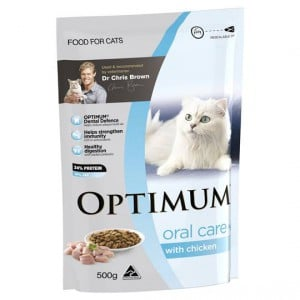 Optimum Adult Cat Food Oral Care With Chicken