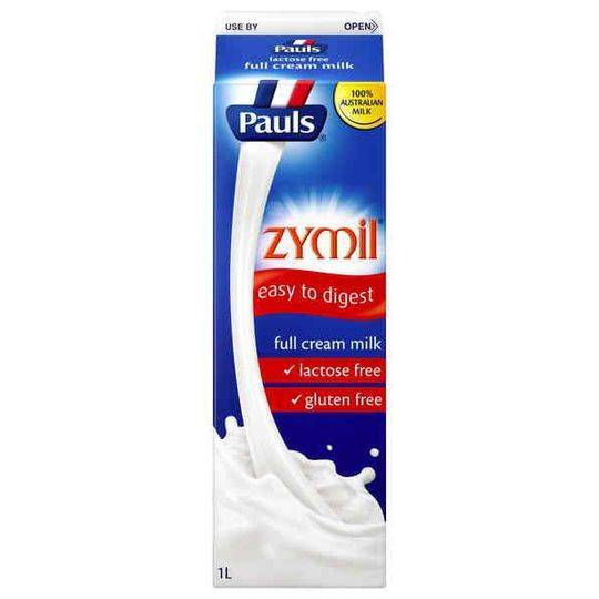 Pauls Zymil Lactose Free Full Cream Milk