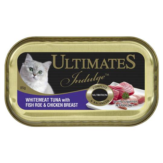 Ultimates Indulge Adult Cat Food Tuna Fish Roe & Chicken