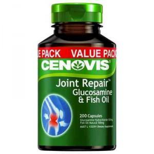 Cenovis Joint Repair Glucosamine & Fish Oil Capsules Value Pack