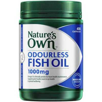 mom241861 reviewed Nature's Own Odourless Fish Oil 1000mg Capsules