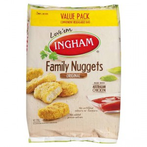 Ingham Crumbed Chicken Nuggets Family Pack