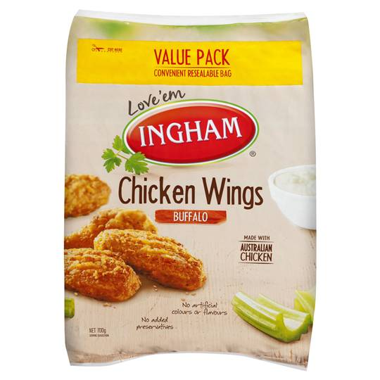 Ingham Chicken Pieces Chicken Buffalo Wings