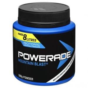 Powerade Mountain Blast Powder