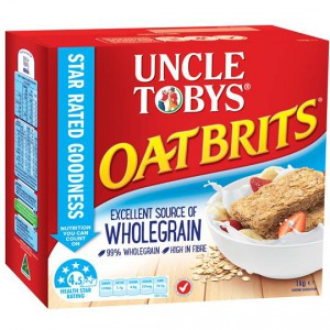 Uncle Tobys Oatbrits