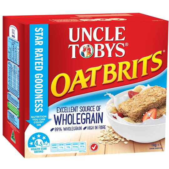 Uncle Tobys Oatbrits
