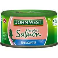 John West Tempters Salmon In Springwater