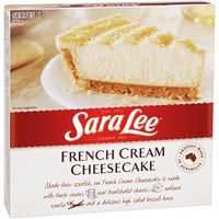 Sara Lee Cheese Cake French Cream