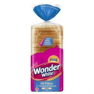Wonder White Bread Vitamins & Minerals Toast