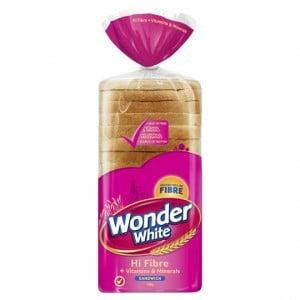 Wonder White Bread Vitamins & Minerals Sandwich
