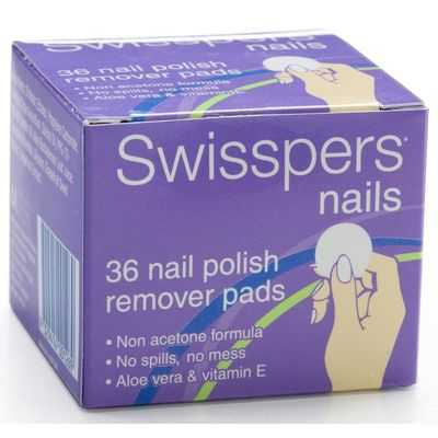 Swisspers Nail Polish Remover Pad