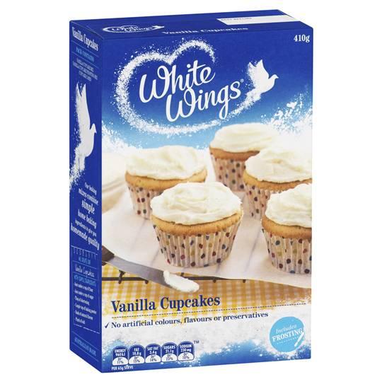 White Wings Cupcake Mix Vanilla
