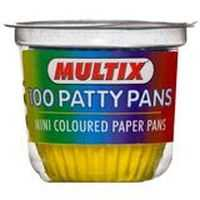 Multix Patty Pans Mini Coloured
