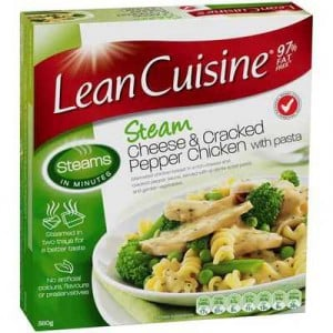 Lean Cuisine Steam Chicken Cheese & C/pepper