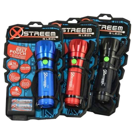 Xstreem 16 Led Flashlight