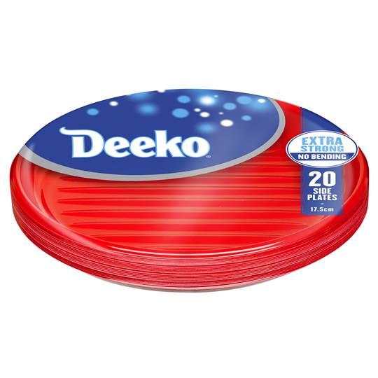 Deeko Side Plates Plastic