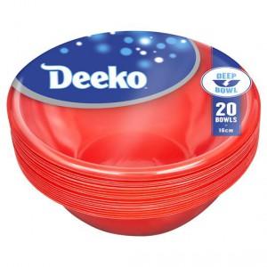 Deeko Bowls Plastic