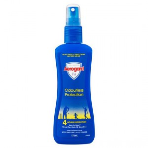 Aerogard Insect Repellent Odourless Pump Spray