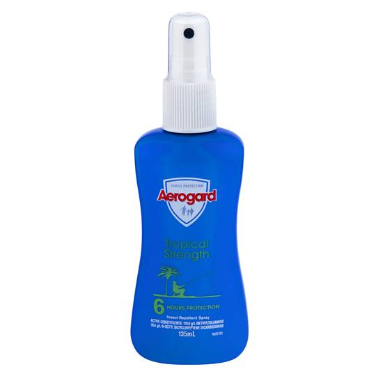 Aerogard Insect Repellent Tropical Pump Spray