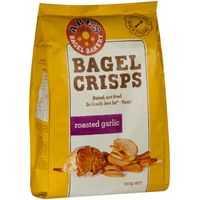 Abes Bagel Crispbread Garlic