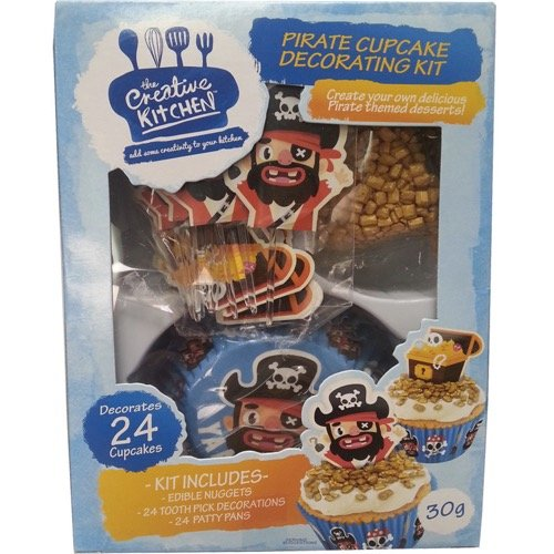 Creative Kitchen Pirate Cake Decorating Kit