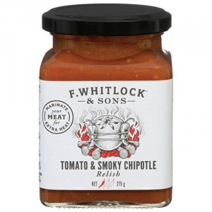 F Whitlock & Sons Relish Tomato & Smokey Chipotle