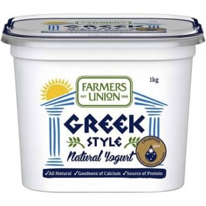 Farmers Union Greek Style Yoghurt Vanilla
