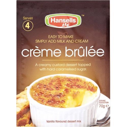 Hansells Creme Brulee