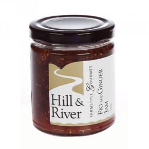 Hill & River Fig and Ginger Jam