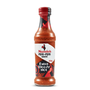 Image of Nando's Extra Bloody Hot PERi-PERi Sauce 250g