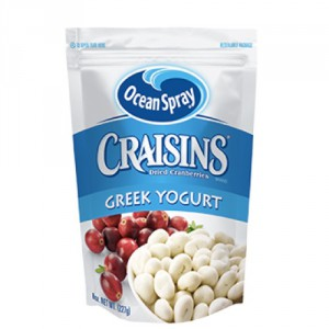 Ocean Spray Craisins Greek Yoghurt