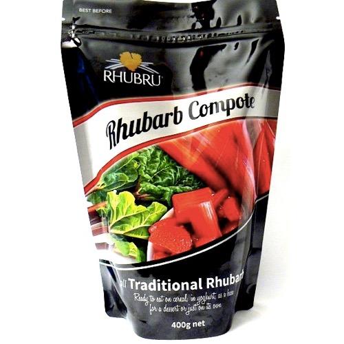 Rhubru Rhubarb compote